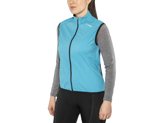 Löffler Windstopper Active Cykelvest Damer blå (2019) | Vests